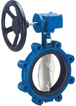 Center Disc Lugged Butterfly Valve